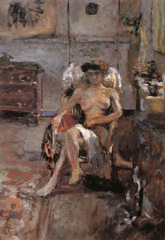 Edouard Vuillard Chair of the models