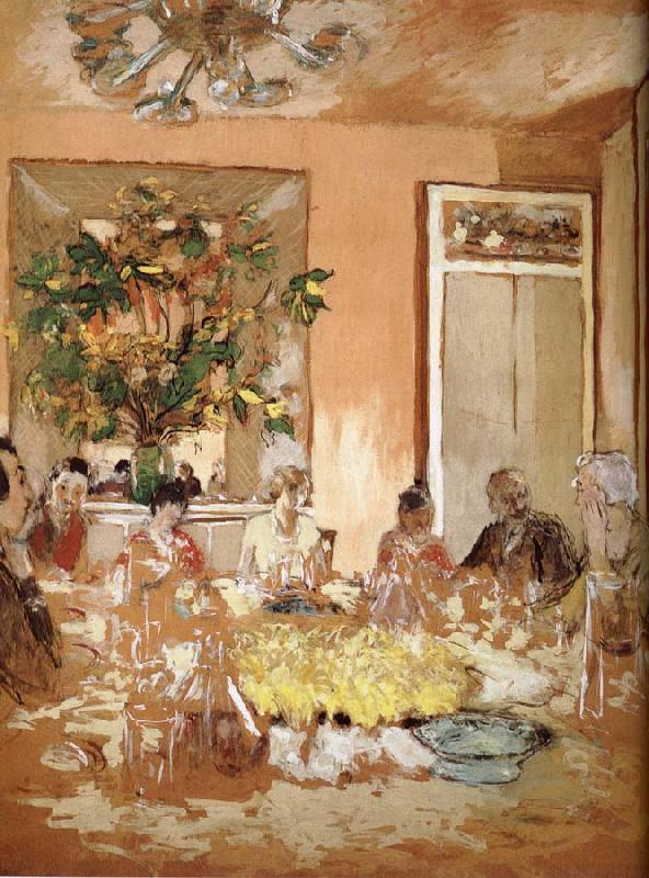 Edouard Vuillard Lunch