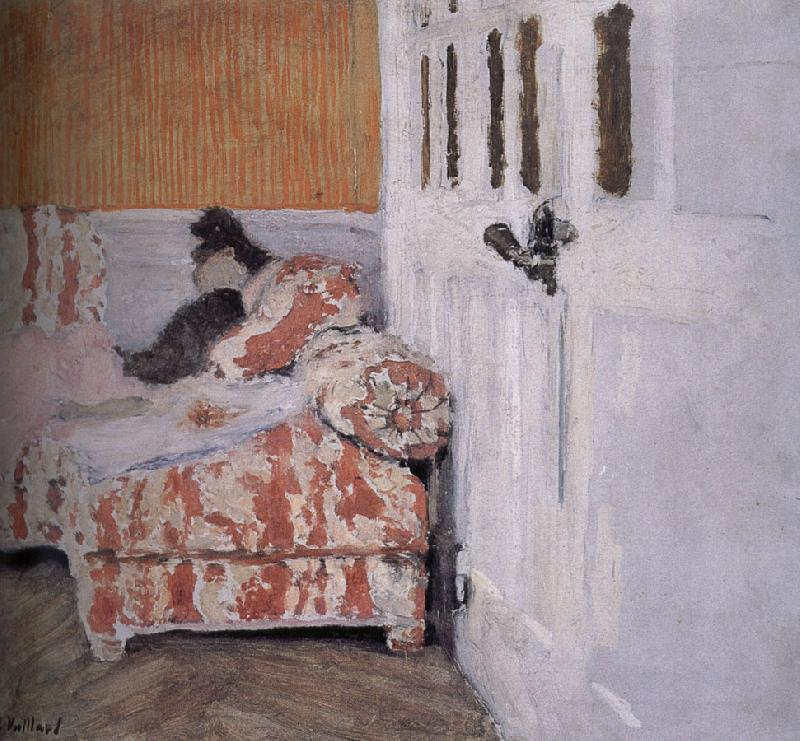 Edouard Vuillard On the sofa