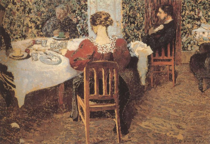 Edouard Vuillard Vial home after lunch