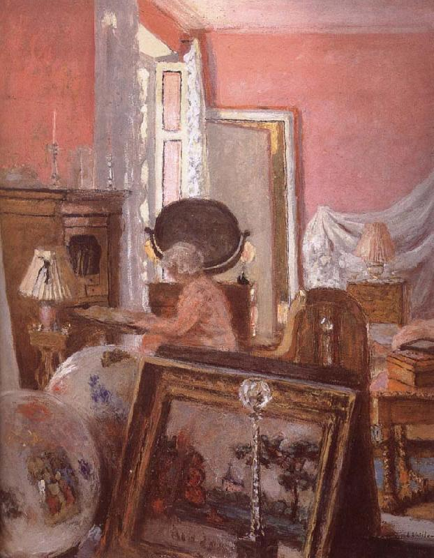 Edouard Vuillard Mrs Black searle in her room