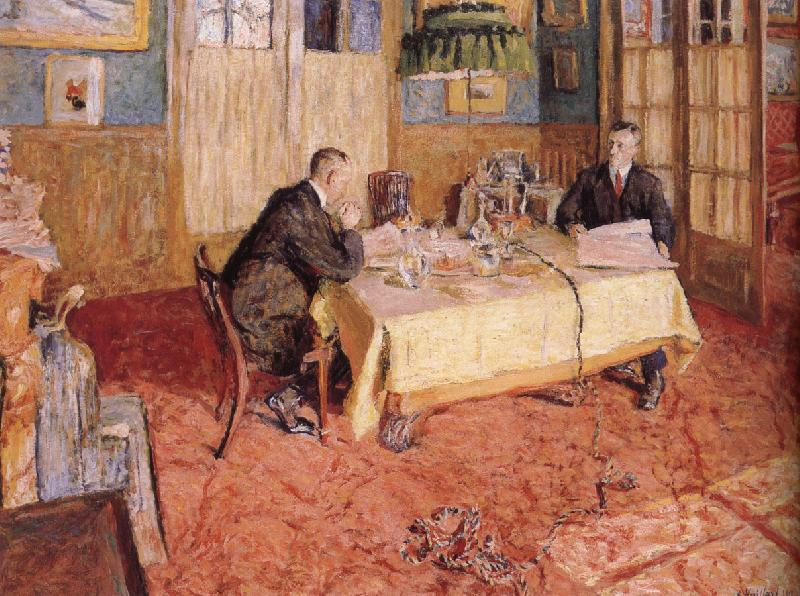 Edouard Vuillard In the office