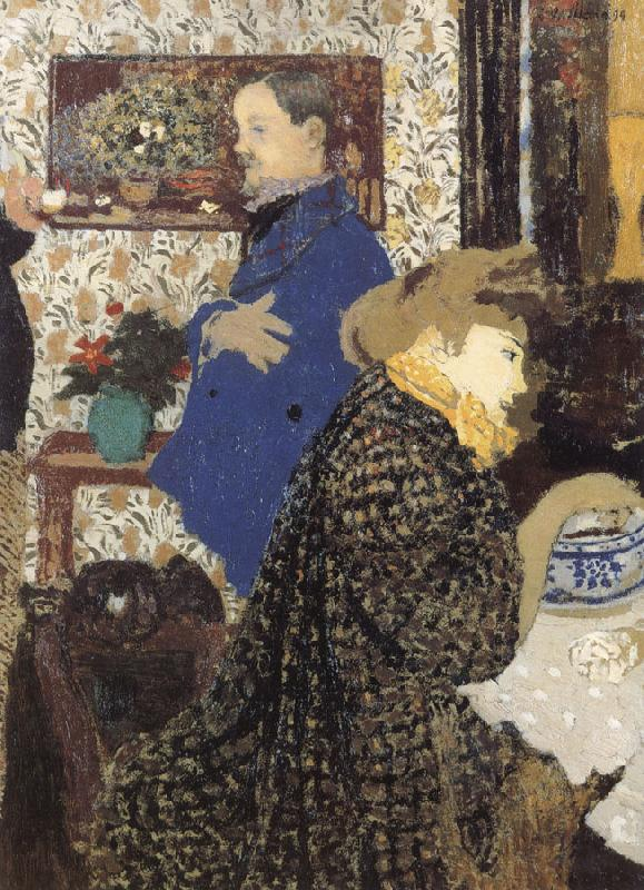 Edouard Vuillard Mixi Ya and Valle car Weilenafu