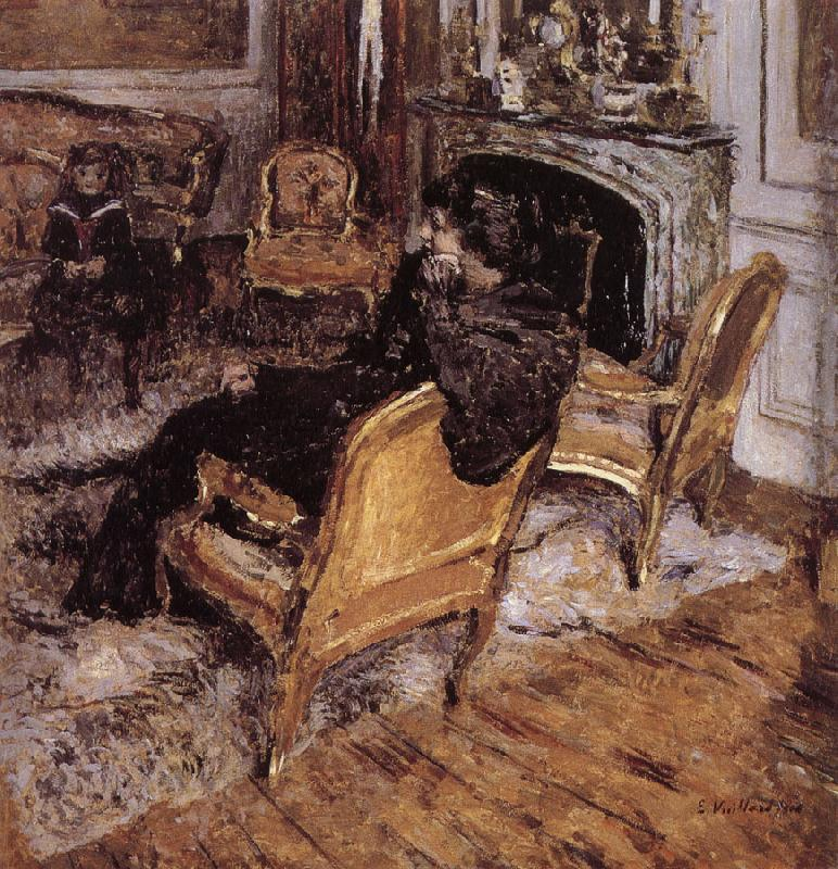 Edouard Vuillard Gold chair