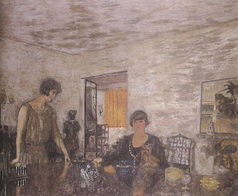 Edouard Vuillard Black tea cups