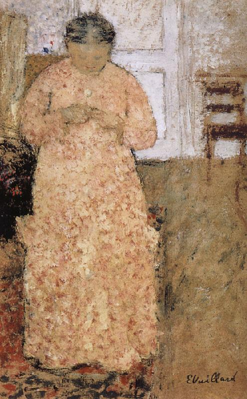 Edouard Vuillard Pink clothes women