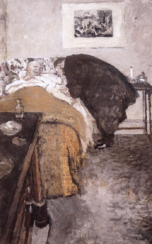 Edouard Vuillard The doctor arrives