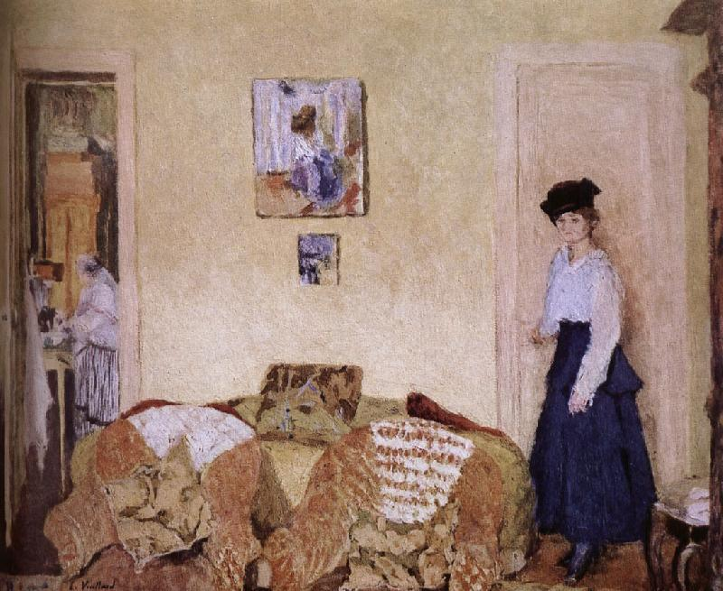 Edouard Vuillard Annette room in the Vial