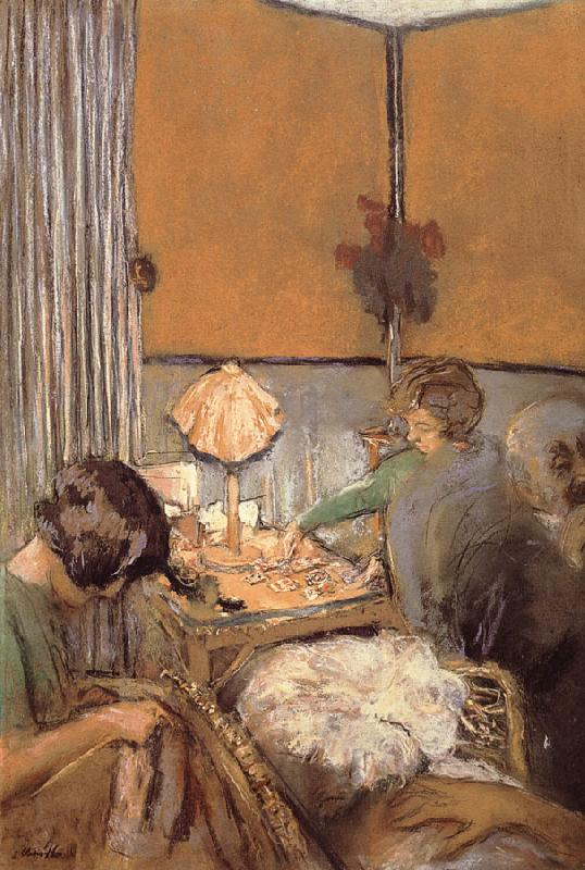 Edouard Vuillard A single card game