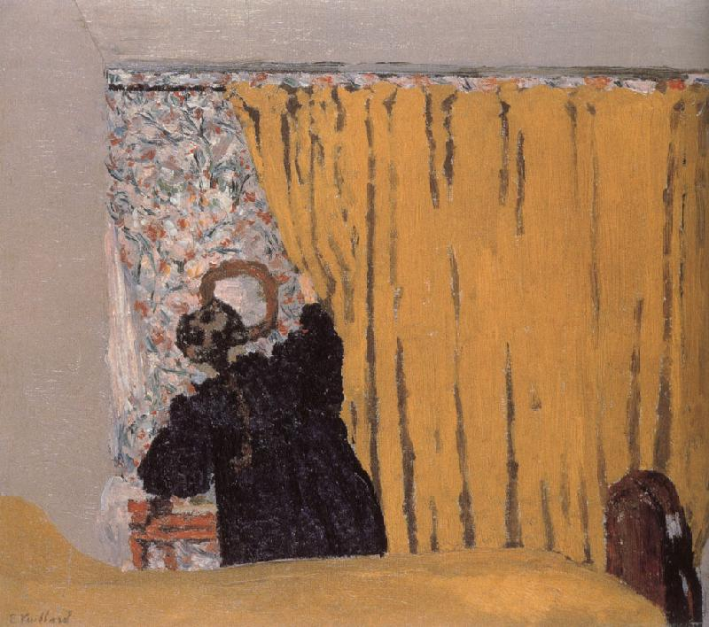 Edouard Vuillard Yellow curtains