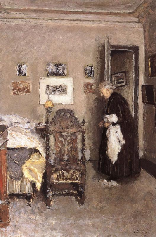 Edouard Vuillard Housewife