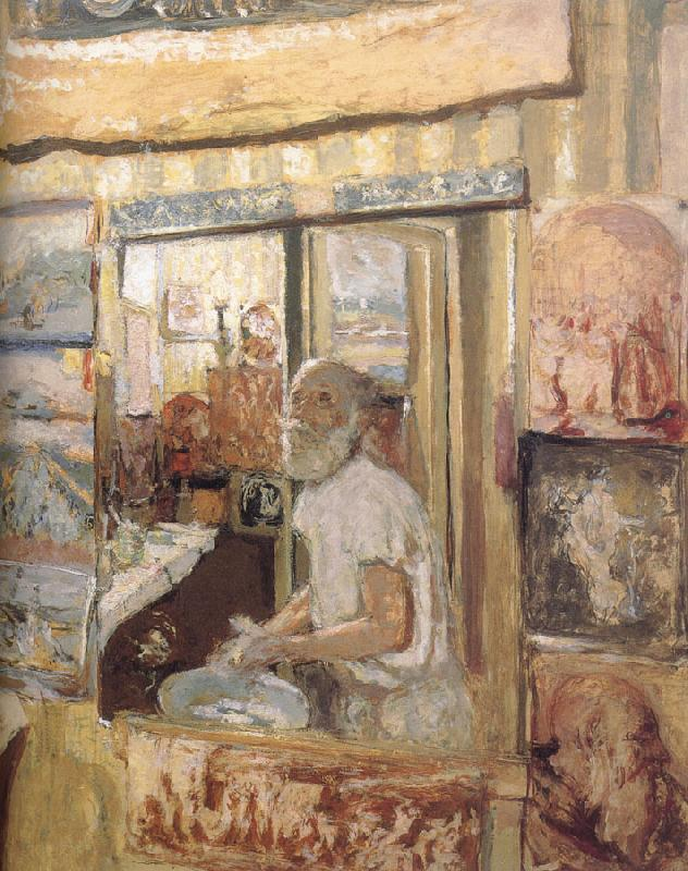 Edouard Vuillard In the mirror of herself