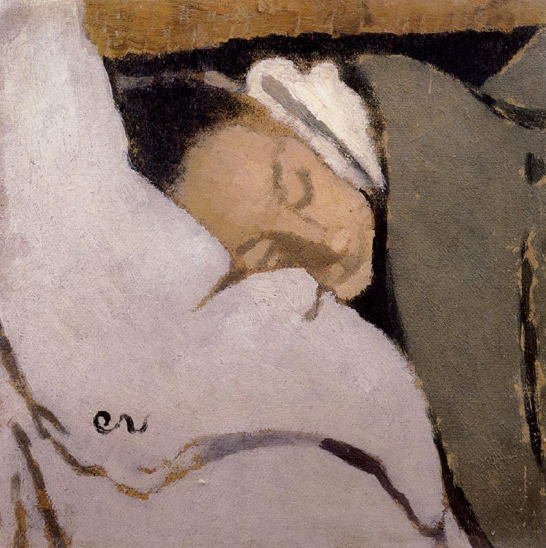 Edouard Vuillard Sleeping woman