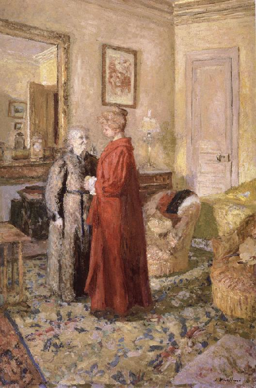 Edouard Vuillard Vial and his wife Annette