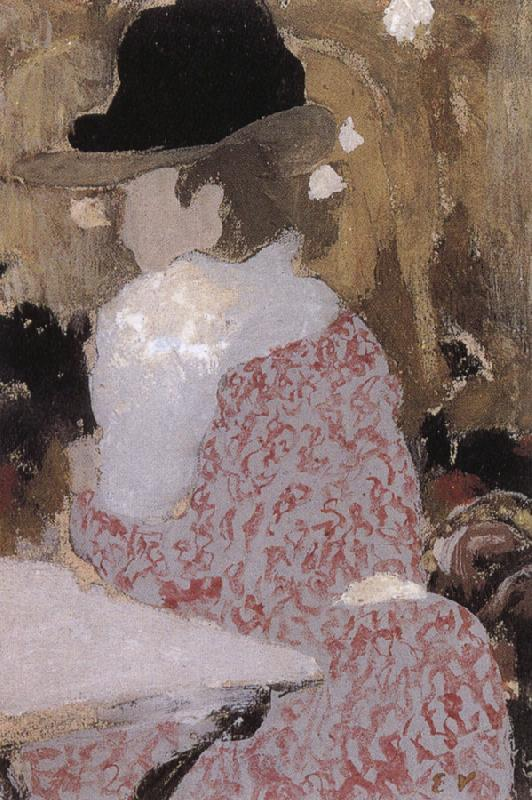 Edouard Vuillard In the coffee shop