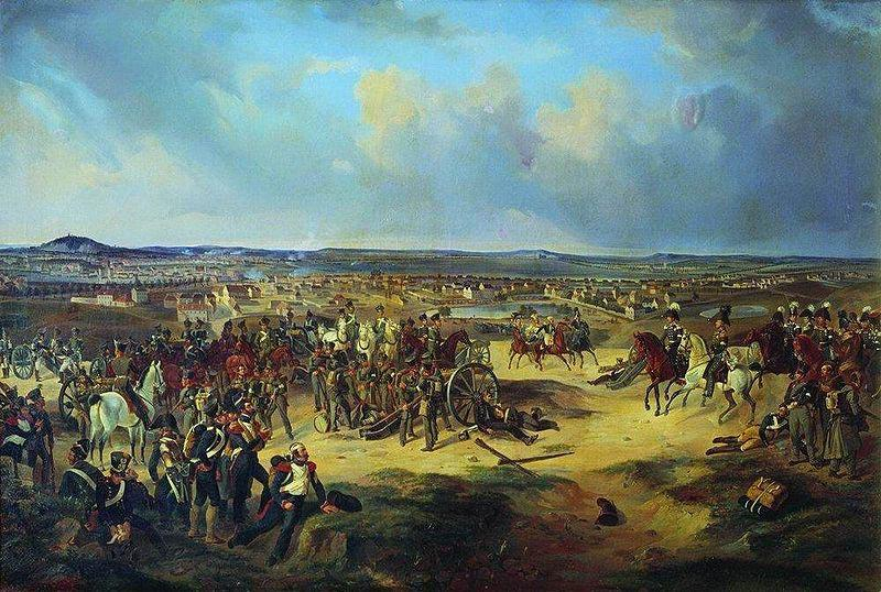 Bogdan Villevalde Battle of Paris in 1814, Mars 17.