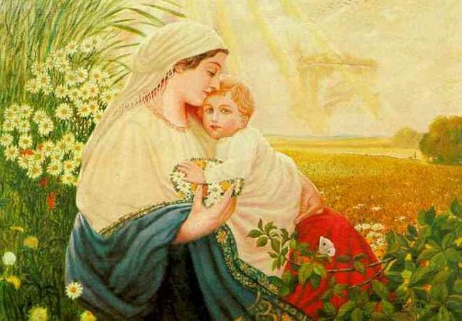 Adolf Hitler Mother Mary with the Holy Child Jesus Christ