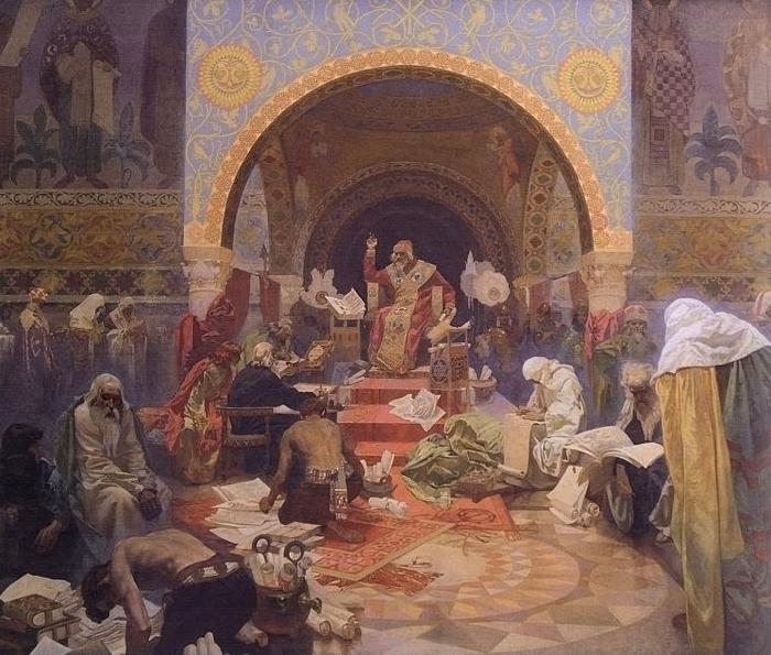 Alfons Mucha The Morning Star of Slavonic Literature