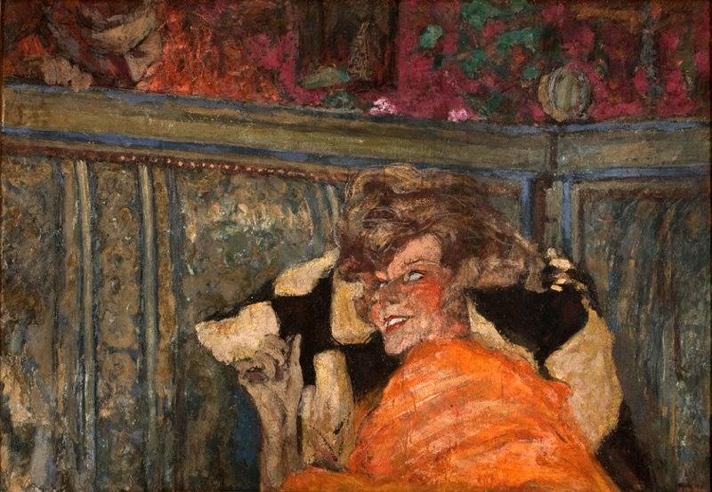 Edouard Vuillard Yvonne Printemps and Sacha Guitry