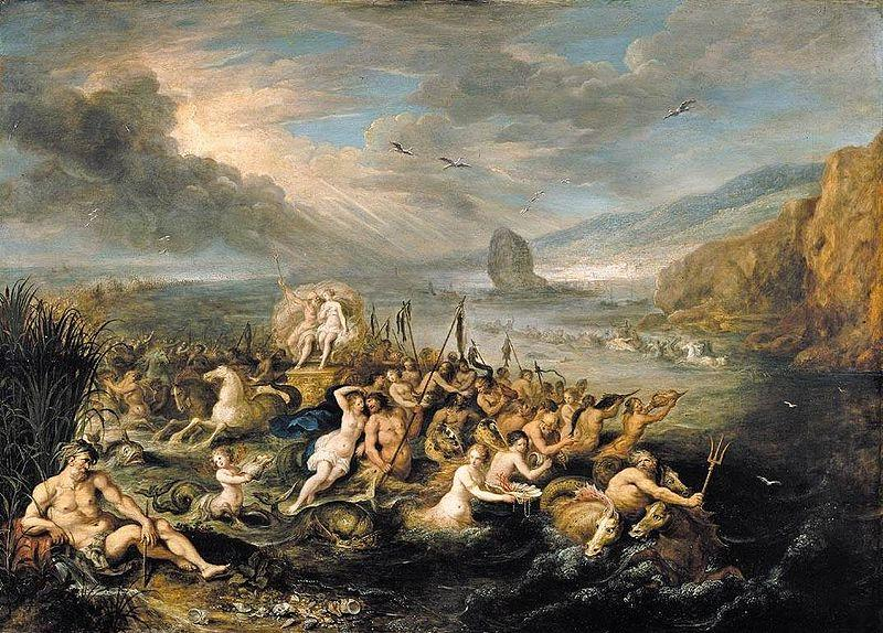 Francken, Frans II The Triumph of Neptune and Amphitrite