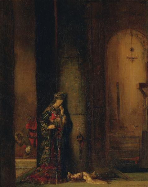 Gustave Moreau Salome at the Prison