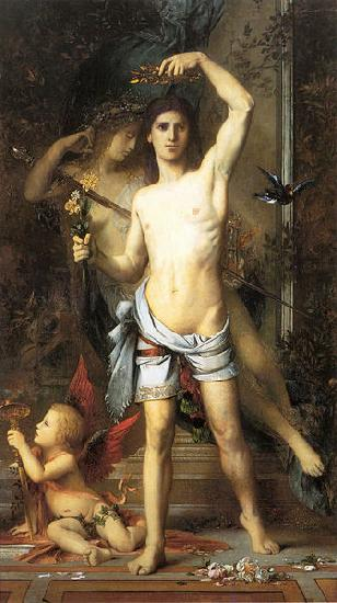 Gustave Moreau The Young Man and Death