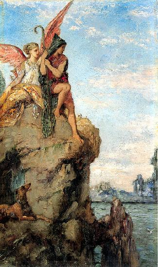 Gustave Moreau Hesiod and the Muses