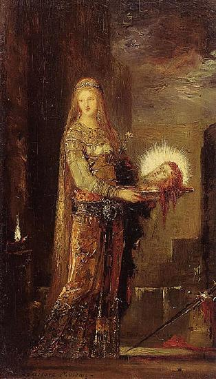 Gustave Moreau Salome Carrying the Head of John the Baptist on a Platter