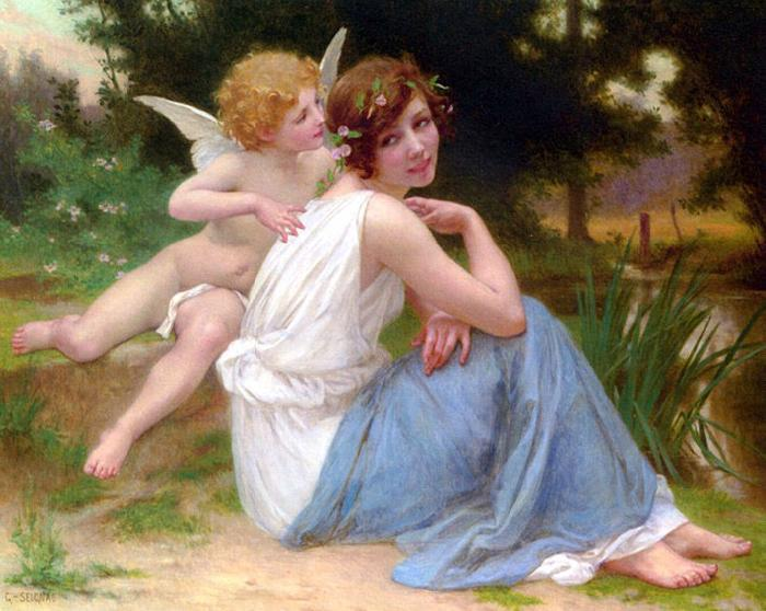 Guillaume Seignac Cupid and Psyche