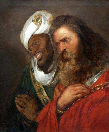 Jan lievens Saladin and Guy de Lusignan