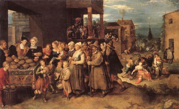Francken, Frans II The Seven Acts of Charity