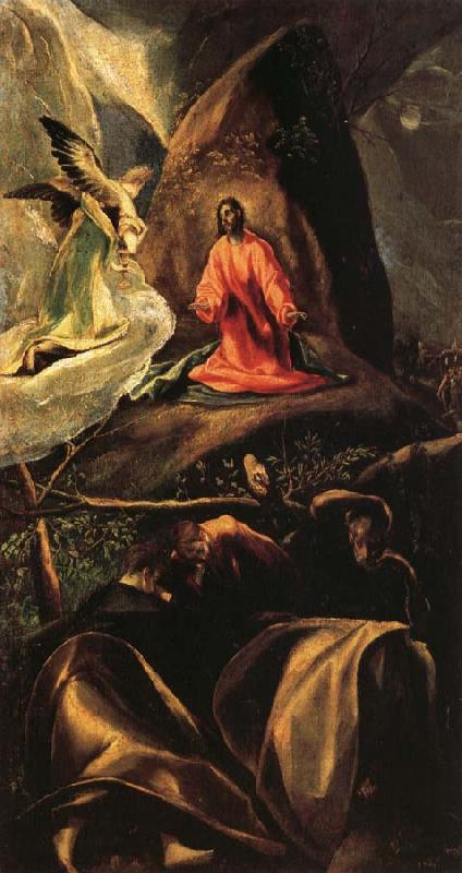 El Greco Agony in the Garden