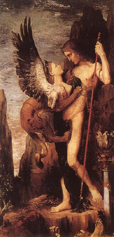 Gustave Moreau Ordipus and the Sphinx