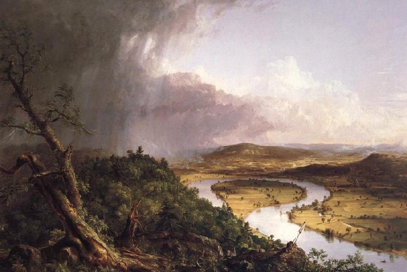 Thomas Cole View from Mount Holyoke,Northampton,MA.after a Thunderstorm