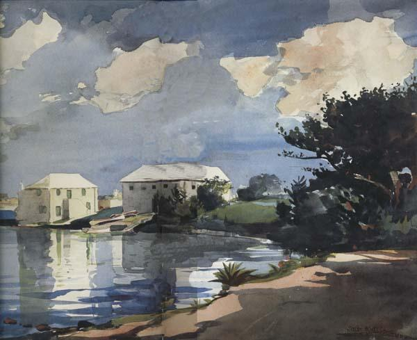 Winslow Homer Salt Kettle :Bermuda (mk44)