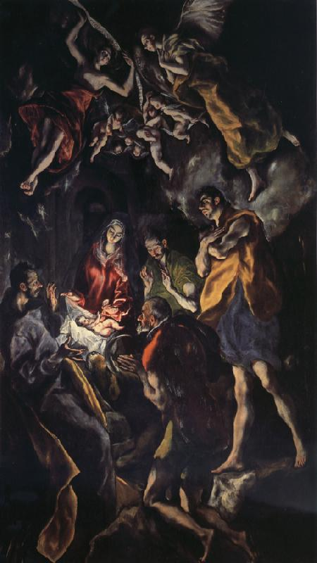 El Greco Adoration of the Shepherds