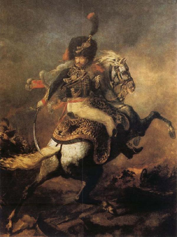 Theodore Gericault Officer of the Imperial Guard