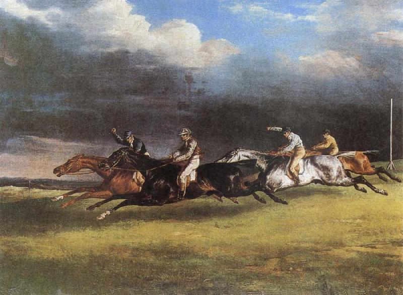 Theodore Gericault The Epsom Derby